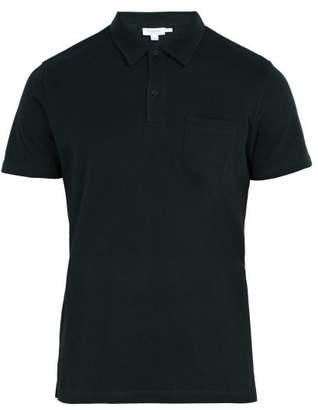 Sunspel Riviera Cotton Polo Shirt - Mens - Green