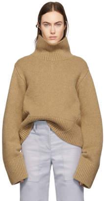 KHAITE タン カシミア Wallis セーター
