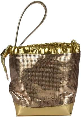 Paco Rabanne Chainmail Grab Handle Buckle Bag