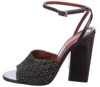 Missoni Glitter Ankle-Strap Sandals