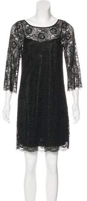 Laundry by Shelli Segal Lace Mini Dress