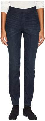 Eileen Fisher Organic Cotton Soft Stretch Denim Jeggings in Utility Blue Women's Jeans