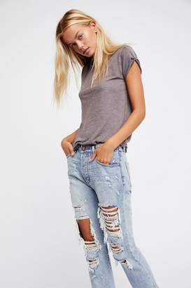 One Teaspoon Oneteaspoon OneTeaspoon Hooligans Crop Flare Jeans
