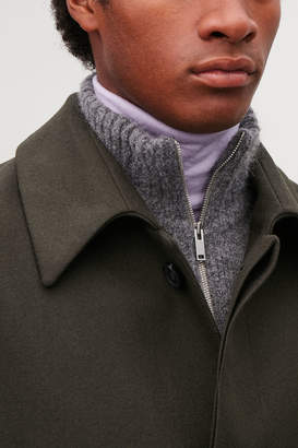 Cos ZIP-UP KNITTED BIB