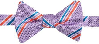 Countess Mara Men's Decker Stripe Pre-Tied Bow Tie