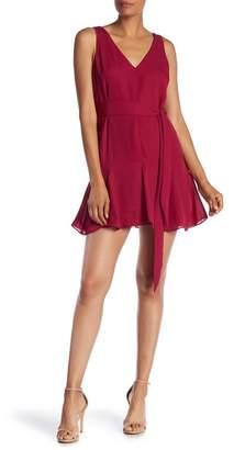 Parker Belted Sleeveless Mini Dress