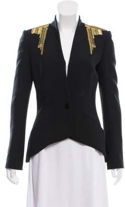 Sass & Bide Embellished Collarless Blazer w/ Tags