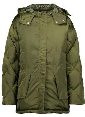 Sandro Starman Quilted Shell Hooded Jacket