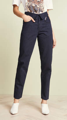 Atelier Jean The Flip Pinstripe Pants