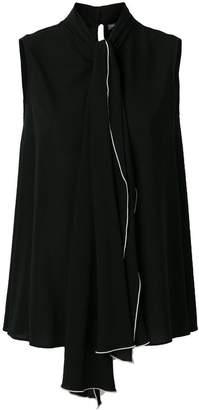 Alexander McQueen sleeveless blouse