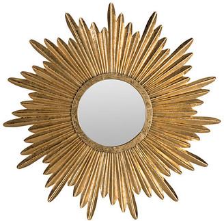 One Kings Lane Sunburst Mirror - Gold