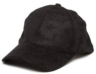 August Hat Faux Suede Baseball Cap