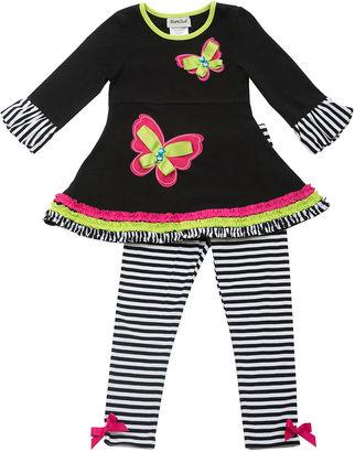 Rare Editions Girls 2-pc. Legging Set-Preschool $50 thestylecure.com