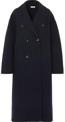 Jil Sander Oversized Wool And Cashmere-blend Coat - Navy