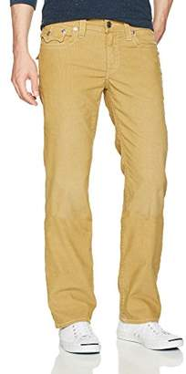 True Religion Men's Straigh Corduroy Pant