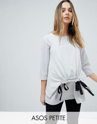Asos DESIGN Maternity Tall nursing channel front top