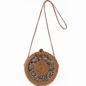 Sicily Betsy & Floss Round Basket Bag