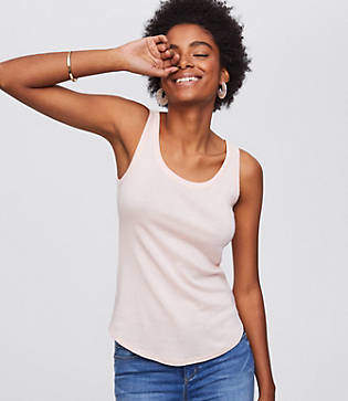 LOFT Essential Shirttail Tank