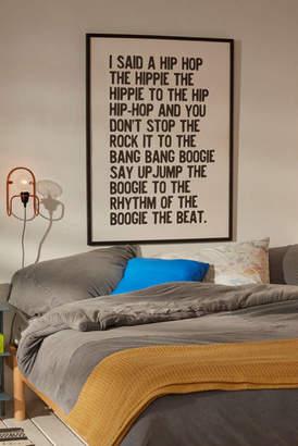 +Hotel by K-bros&Co Honeymoon Hotel Rapper's Delight Art Print
