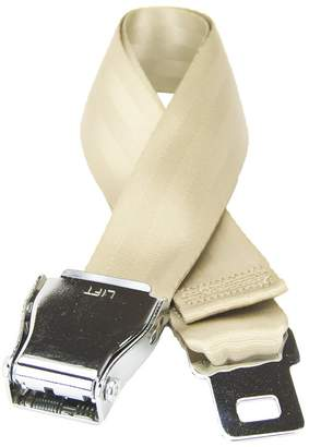 BEIGE Flybuckle Airplane Fashion Belt Favorite Unique Seat Belt Buckle Design Size.