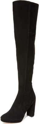 Diane von Furstenberg Bari Over The Knee Boots $598 thestylecure.com