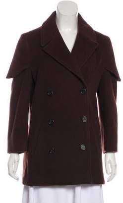 Maison Margiela Wool Structured Short Coat