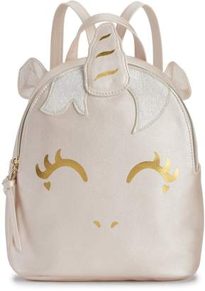 T-Shirt & Jeans T Shirt & Jeans Foiled Unicorn Backpack