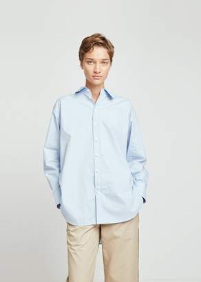 Acne Studios Menswear Cotton Poplin Shirt