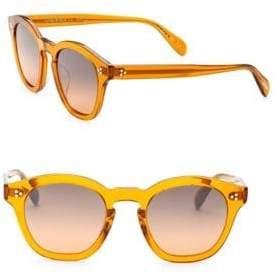 Oliver Peoples Boudreau L.A.48MM Square Sunglasses