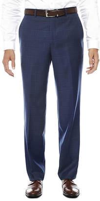 STAFFORD Stafford Plaid Stretch Classic Fit Suit Pants