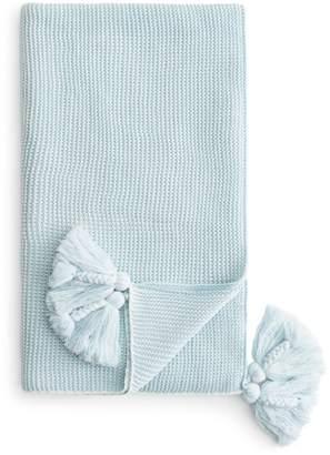 Sky Knit Stitch Throw - 100% Exclusive