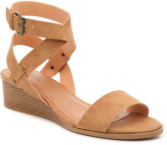 Qupid Liam Wedge Sandal - Women's