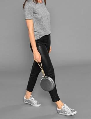 Paige Clare V. x Julie Clutch & Wristlet - Silver Leather