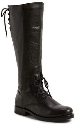 Frye Natalie Knee High Combat Boot