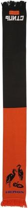 Heron Preston ACRYLIC & WOOL MIX DOUBLE COLOR SCARF