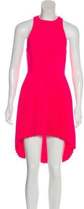 Christopher Kane Wool Plissé Dress