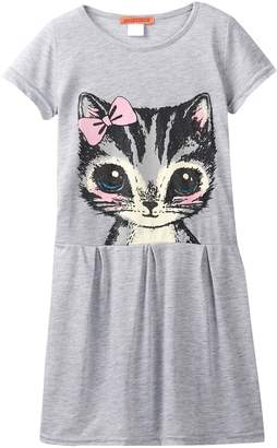 Funkyberry Kitty Dress (Toddler, Little Girls, & Big Girls)