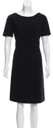 Agnona Wool Shift Dress