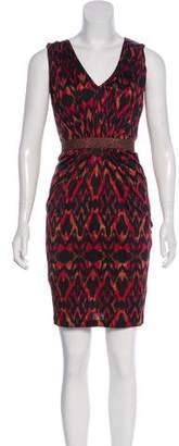 Saloni Sleeveless Printed Dress