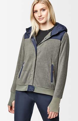 Holden Gunmetal Snow Sherpa Hybrid Zip Up Jacket
