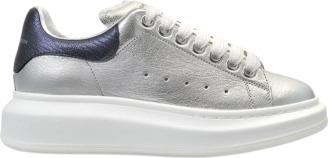 Alexander McQueen Sneakers metallic $434 thestylecure.com