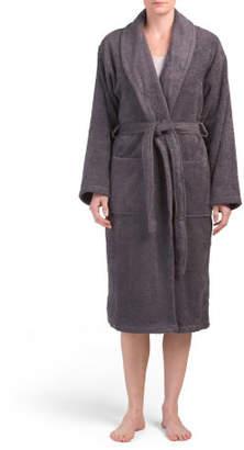Turkish Cotton Terry Bath Robe