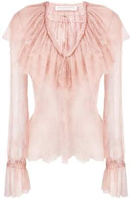 Philosophy di Lorenzo Serafini layered lace blouse
