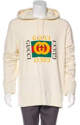 Gucci 2018 Oversize Logo Hoodie