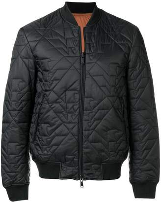 Emporio Armani quilted bomber jacket