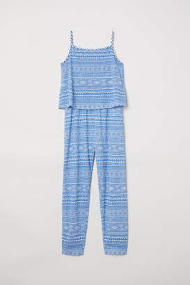 H&M Sleeveless Jumpsuit - Blue