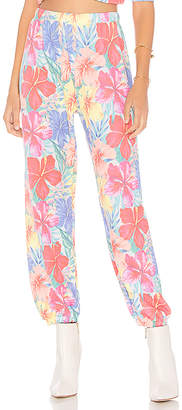 Wildfox Couture Tropicalia Easy Sweats Pant
