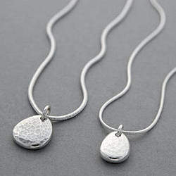 Neve Latham & Ripple Pebble Necklace