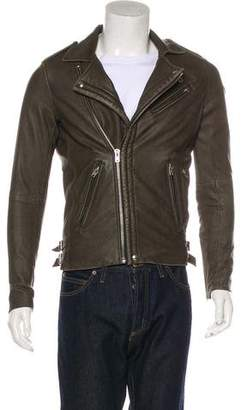IRO Leather Motorcycle Jacket