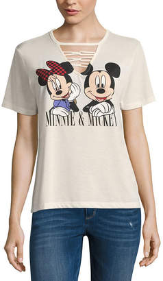 Freeze Mickey & Minnie Mouse Tee - Juniors